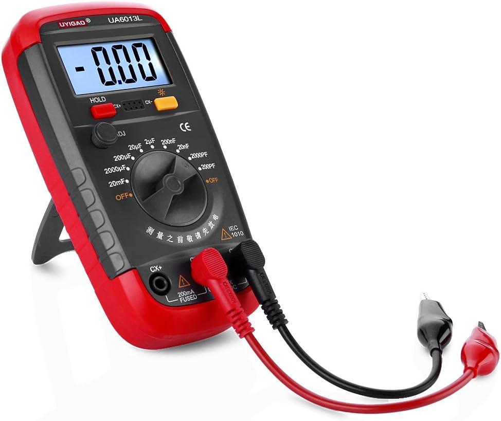 UA6013L Non-Auto Range Digital LCD Capacitor Capacitance Test Tester Meter sy