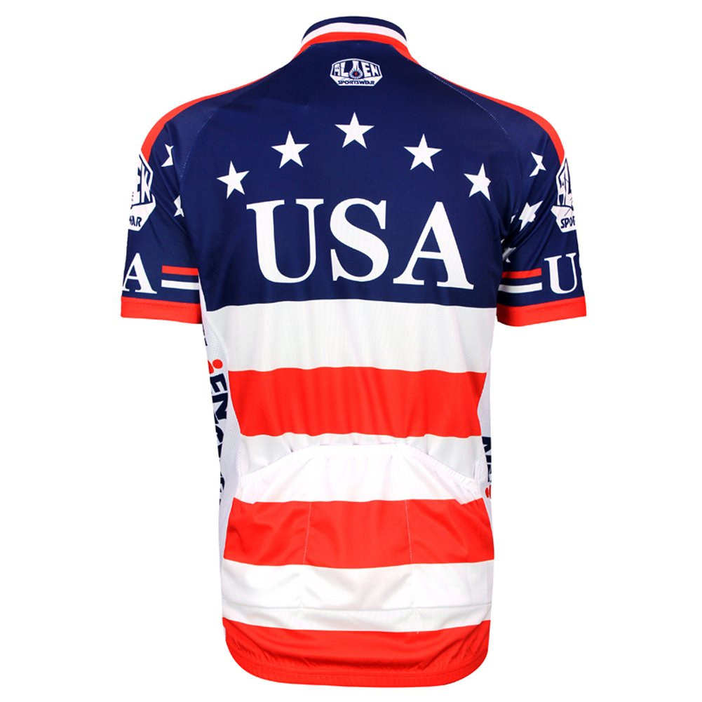 3449ec61a Amazon.com   Mens Outdoor Sports Cycling Short Sleeve Cycle Jersey Bike  Shirt Bicycle Top   Sports   Outdoors