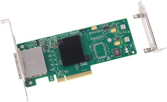 8-Port SATA 6Gbs LSI 9200-8i PCI Express SAS Card SAS2008 Controller