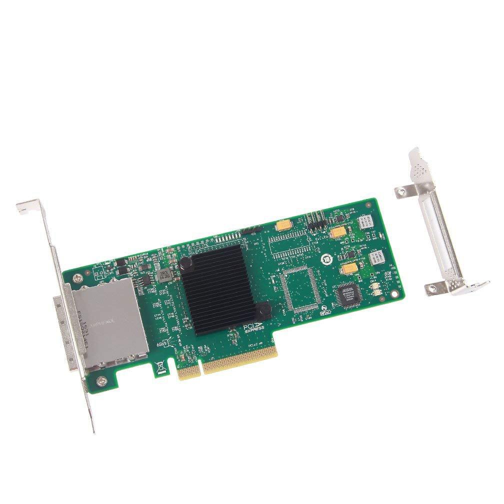 HBA SAS / SATA PCI Express externo 10Gtek, chip LSI SAS2008, 8 puertos 6Gb / s, igual que LSI 9200-8E