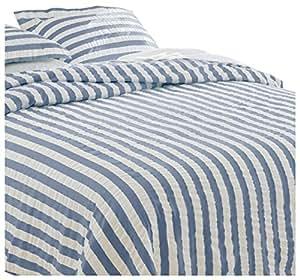 Orvis Summer Stripe Seersucker Bedspread