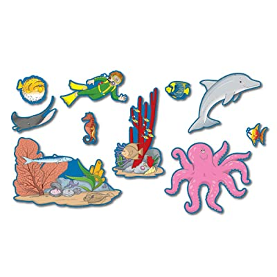 Carson Dellosa Ocean Bulletin Board Set (1776): Carson-Dellosa Publishing: Office Products