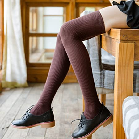 1c13877d0ae Tookie Over Knee High Socks
