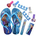Townley Girl Disney Frozen My Beauty Spa Set, Nail Polish, Buffer, File, Sandals (Girls 10-11) and Toe Separators by TownleyGirl