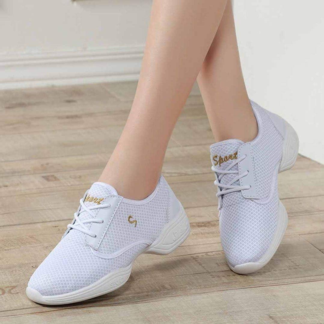 Femmes Plate-Forme Baskets Mode Couleur Unie Respirant Maille à Lacets Bas Haut Fond Doux Anti dérapant Printemps été Dames Chaussures de Course Blanc
