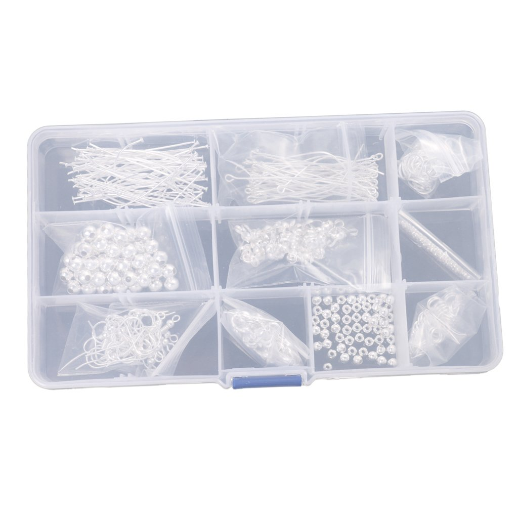 Generic One Box of Jewelry Making Starter Kit DIY Handcrafts Jewelry Findings