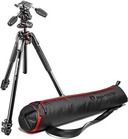Manfrotto 190 Xpro Aluminium Stativ Mit 3 Wege Neiger Kamera