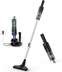 APOSEN Cordless Vacuum Cleaner, 16Kpa Strong Suction 5 in 1 Stick Vacuum Brushless Motor Ultra Lightweight for Home Hard Floor A16s