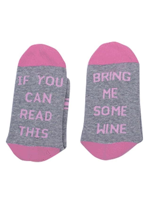 Calcetines Nlife para mujer, con mensaje