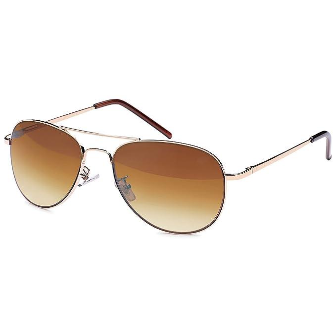 iced out. Bling Metal Sonnenbrille PILOTEN silber