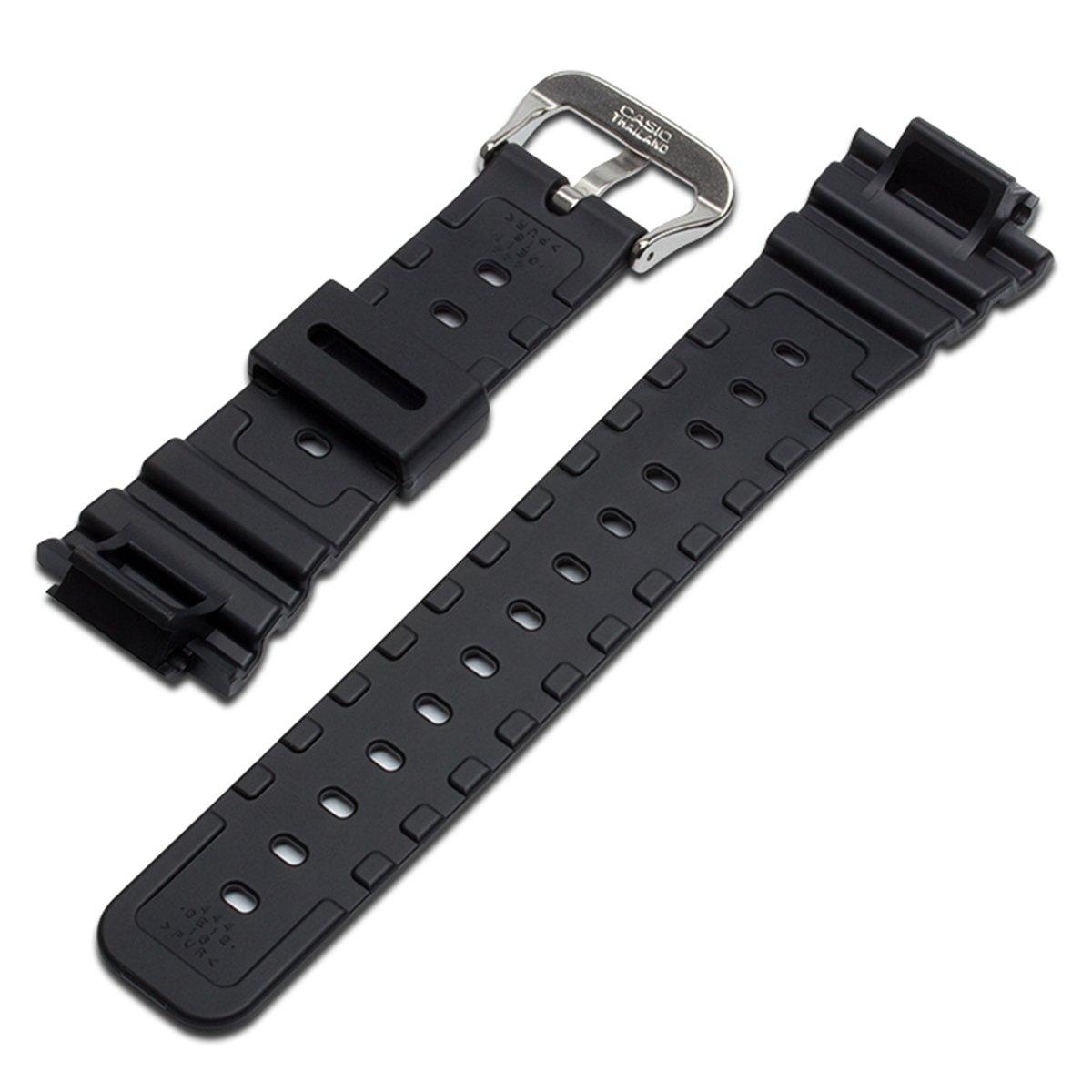 cbd5bbe4d2c2 Naturale poli uretano Watch Band strap di ricambio per Casio uomo G-Shock DW-5900  DW-6100 DW-6695 DW-6900 G-6900 GW-M5610 DW-5600 GW-6900 (J2)  Amazon.it  ...