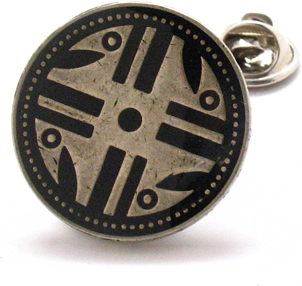 The Traveling Penny Nativo Americano Moneda Tie Tack Pin de Solapa ...