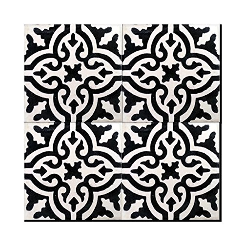moroccan-mosaic-pack-of-12-argana-mozona-handmade-cement-and-granite-8-inch-x-8-inch-floor-and-wall-