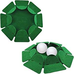 Aliennana Golf Putting Cup 2 Pack,Golf Training Hole Practing Cup Aid,for Office Indoor Outdoor