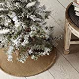 VHC Brands Nowell Natural Mini Tree Skirt 21