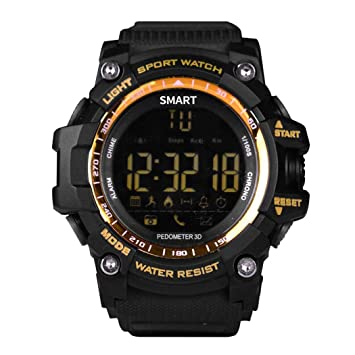 kaimus Hombre Bluetooth Smart Watch Fitness Reloj ex16 ...