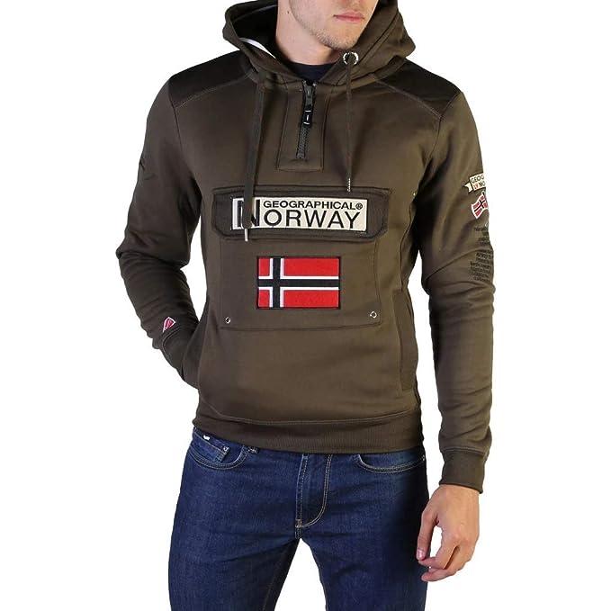 Geographical Norway : Felpa uomo tinta unita Geographical