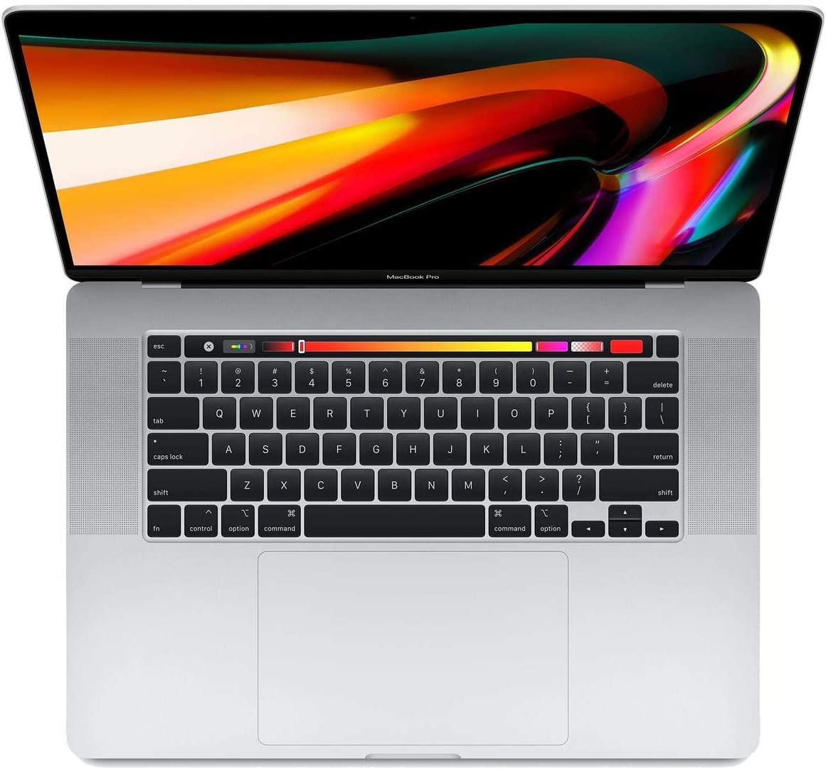 "Apple 16"" MacBook Pro with Touch Bar, 9th-Gen 8-Core Intel i9 2.3GHz, 32GB RAM, 1TB SSD, AMD Radeon Pro 5500M 8GB, Silver, Late 2019 Z0Y300042"