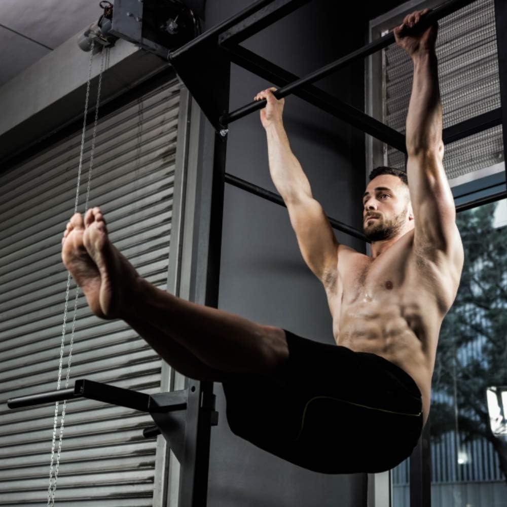 Heavy-Duty Equipment FAIRWAYUK Home Gym Strength Trainer Bars Door Mounted Chin Up Bar