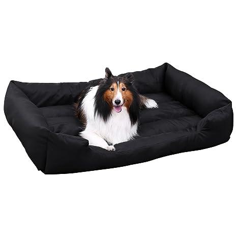 FEANDREA Cama para perro, cesta para perro XXL, cómodo sofá para perro, acogedor cama para mascota en ...