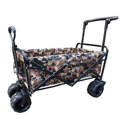 Carretillas de mano Palanca de cochecito plegable camión plegable carro plegable carro de camping carro de