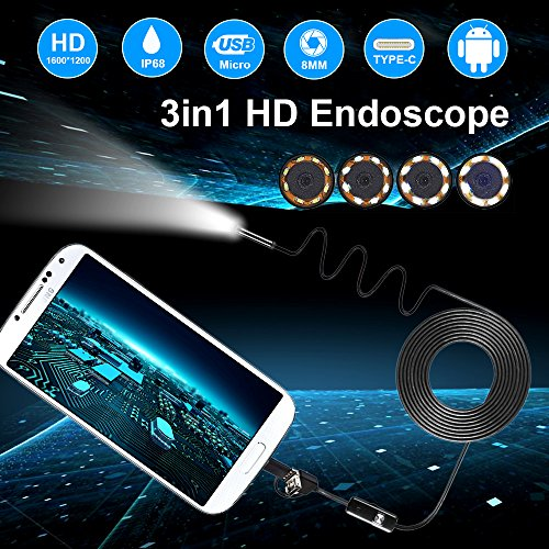 Review USB Endoscope 3 in
