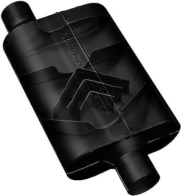 "Flowmaster 9425422 40 Series Delta Flow Muffler 2.5/"" Center Inlet//2.25/"" Dual Out"
