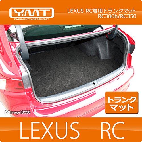 YMT レクサス RC350 トランクマット ブラック×オレンジステッチ - B00QQ75GDW RC350|ブラック×オレンジステッチ ブラック×オレンジステッチ RC350