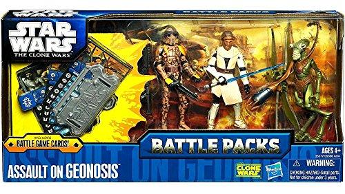 Assault Battle Pack (Star Wars The Clone Wars Battle Packs - Assault On Geonosis Set)