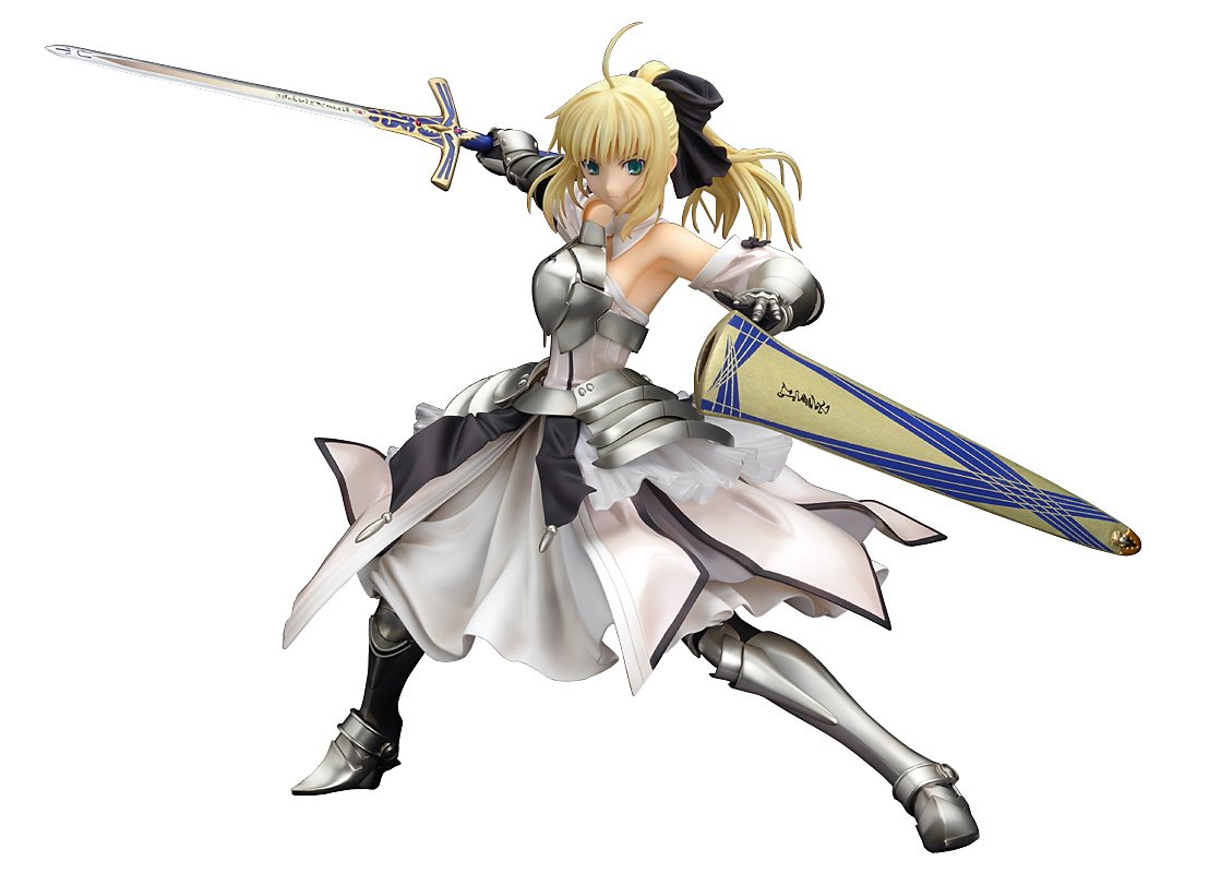 Fate   unlimited codes Saber Lily (Avalon) (1   7 scale PVC pre-painted finished goods)