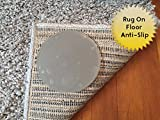 Sticky Discs Non-Slip Rug Pads For RUG-ON-FLOOR