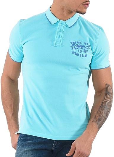 KAPORAL - Polo - para Hombre Azul S: Amazon.es: Ropa y accesorios