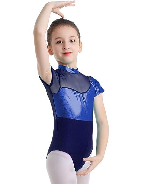 YOOJIA Maillot de Ballet Gimnasia Rítmica Niñas Traje ...