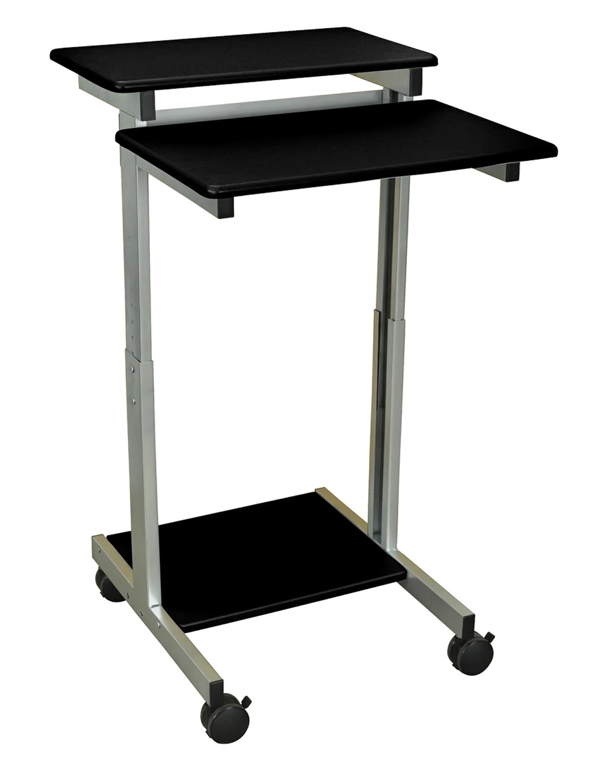 Luxor Office Stand Up Presentation Station - Black
