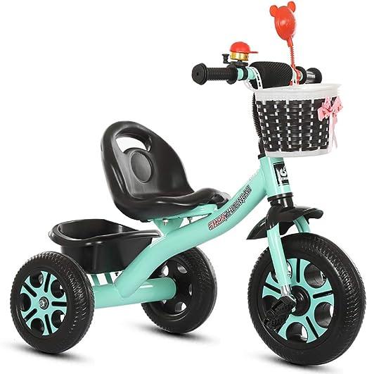 MC-F Triciclo de niños, con Barra de manija de Empuje extraíble ...