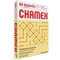 Chamex Papel A4, 210 x 297 mm, Amarelo