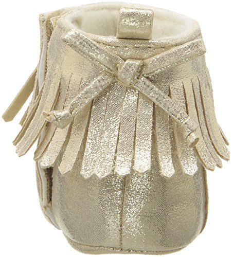 Pictures of ABG Baby Girls' Fringe Boot W/Bow GNB55395AZ2 Gold 8