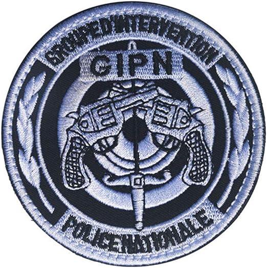 Ohrong GIPN Parche Bordado de la policía de Francia Parche táctico Moral, Insignia con Gancho y Bucle para Gorras Militares Mochila Abrigos: Amazon.es: Hogar