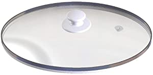 Happy 88 Shop Lid Crock Pot & Slow Cooker Replacement Oval Glass for Rival SCVP609-KLS Wih Plastic Knob Oval in Shape Brand New Product.
