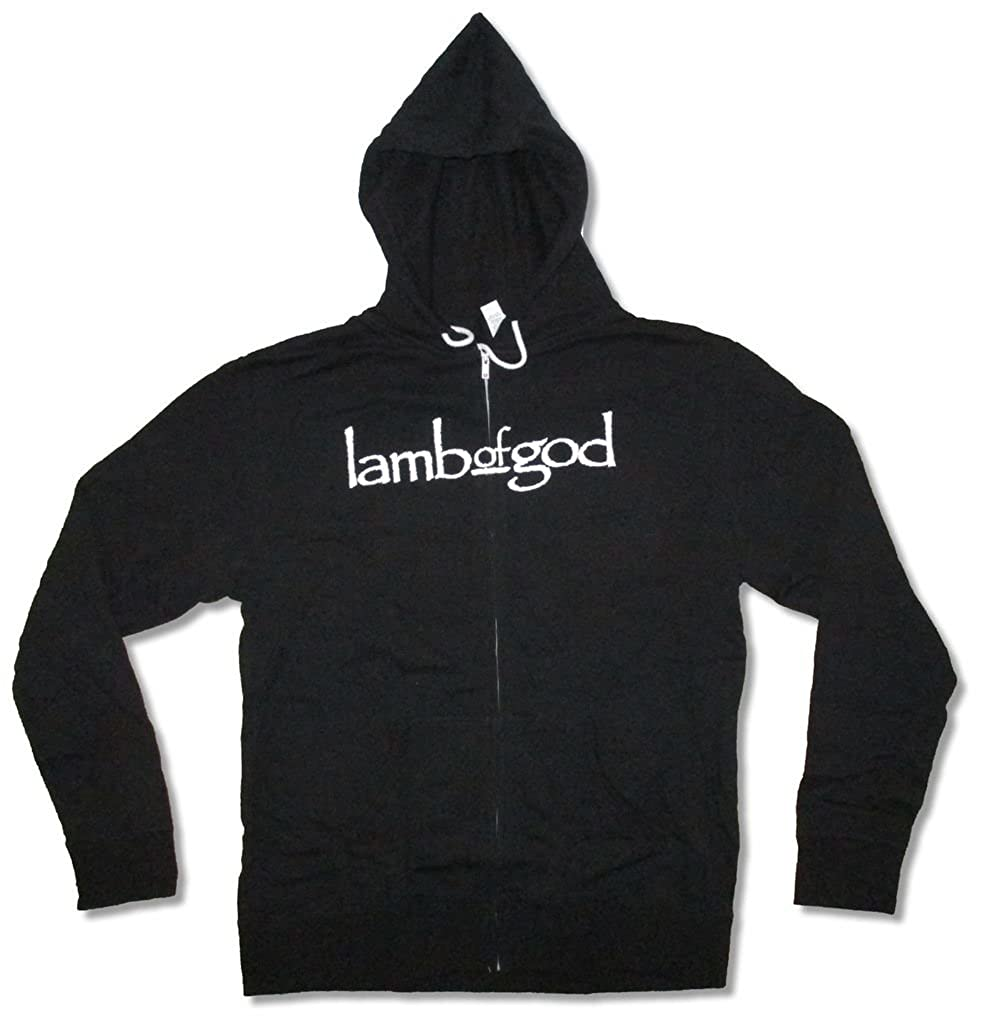 Lamb Of God Blue Sturm Und Drang Zip Up Black Sweatshirt Hoodie
