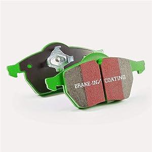 EBC Brakes DP21157 Greenstuff 2000 Series Sport Brake Pad