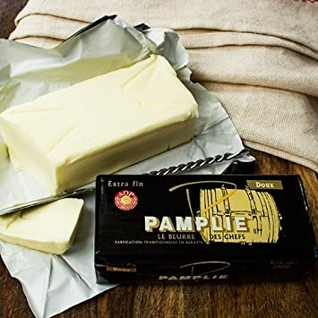 Pamplie Butter Aop With Fleur De Sel 250 Gram Amazon Com Grocery