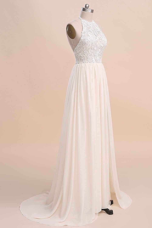 Ruolai ASA Bridal Womens Vintage Cap Sleeve Lace Wedding Dress A Line Evening Gown