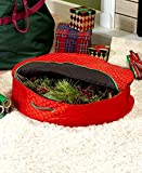 The Lakeside Collection Wreath Storage Bag -