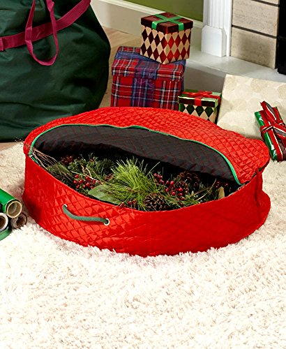 The Lakeside Collection Wreath Storage Bag - by The Lakeside Collection