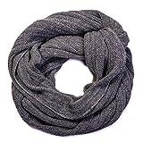Grey wool scarf 100% Baby Alpaca fine, warm wool