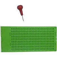 Pizarras y accesorios de Braille en suministros y equipo médicos