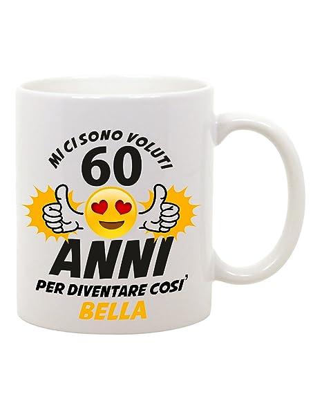 Bubbleshirt Tazza Mug In Ceramica Compleanno Mi Ci Sono Voluti 60