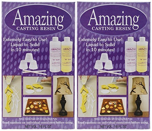 2-PACK - Alumilite Amazing Casting Resin, 16-Ounce each