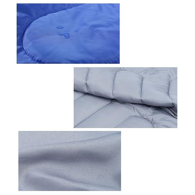Saco de dormir ANSCIO saco de dormir para exterior de camping saco de dormir ligero - cálido relleno de 200 g y transpirable Ldeal Camping Gear para ...